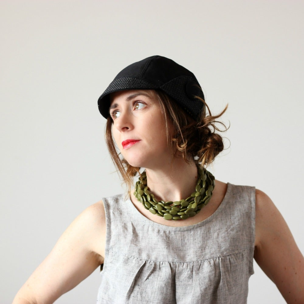Image of 'Jet Setter Blacks'  - x -  February's Feature Nogginware // Amelia Jones the adventurer cap