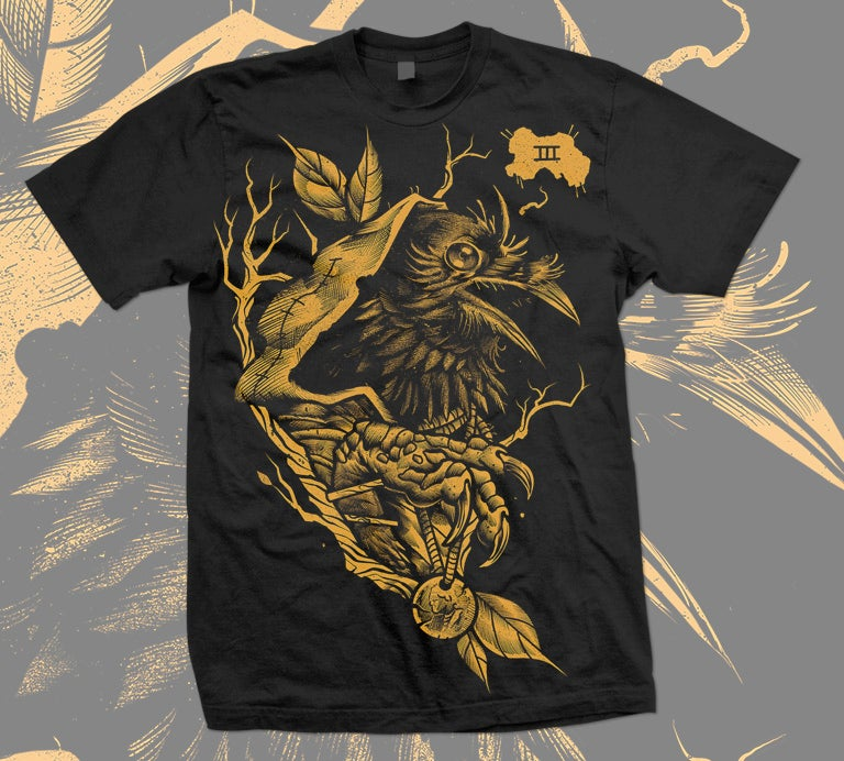 Image of III of Crows Tee