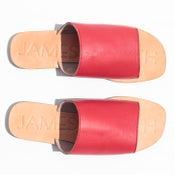 Image of James Smith Off Duty Slide in Red Dolce