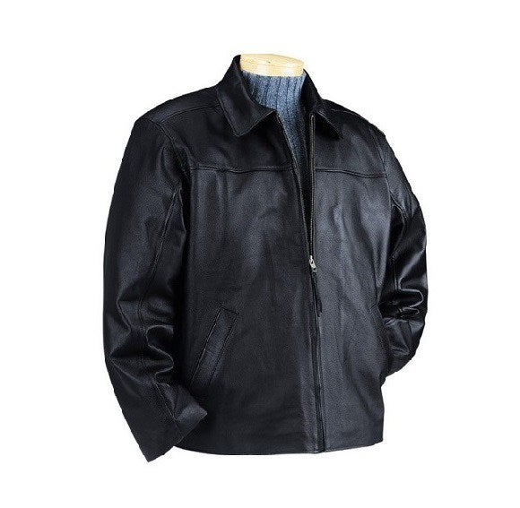 Image of Talos Ballistics NIJ IIIA Bulletproof Men's Falcon Leather Jacket