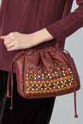 Image of Megan Park Ambika Leather Bag
