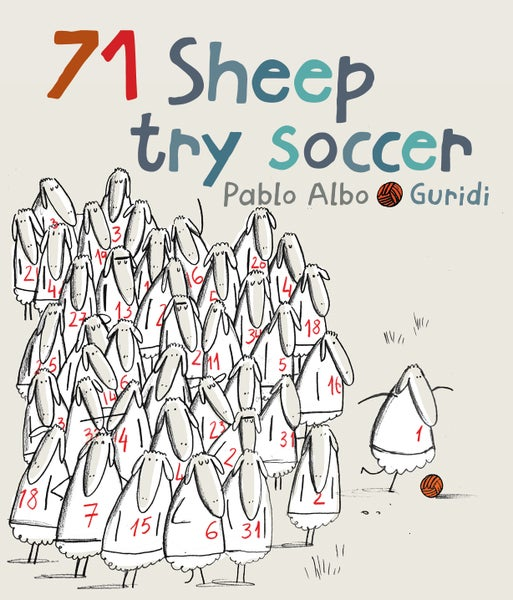 Image of 71 Sheep try soccer