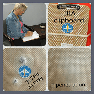 Image of BULLETPROOF CLIPBOARD