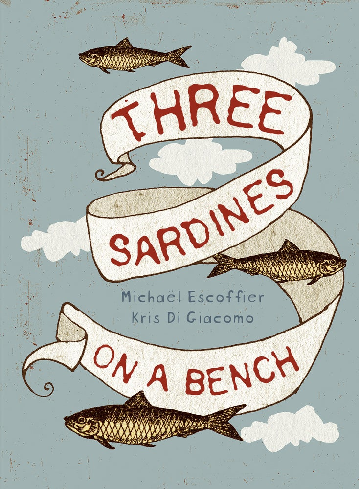 Image of Three Sardines on a bench