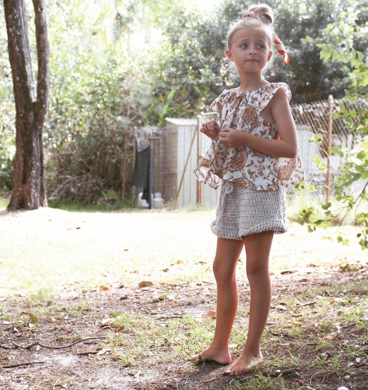 Image of KIDS ARIA SLOUCH SHORTS