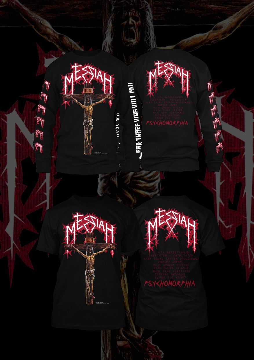Image of Messiah - Psychomorphia T-shirt / Longsleeve