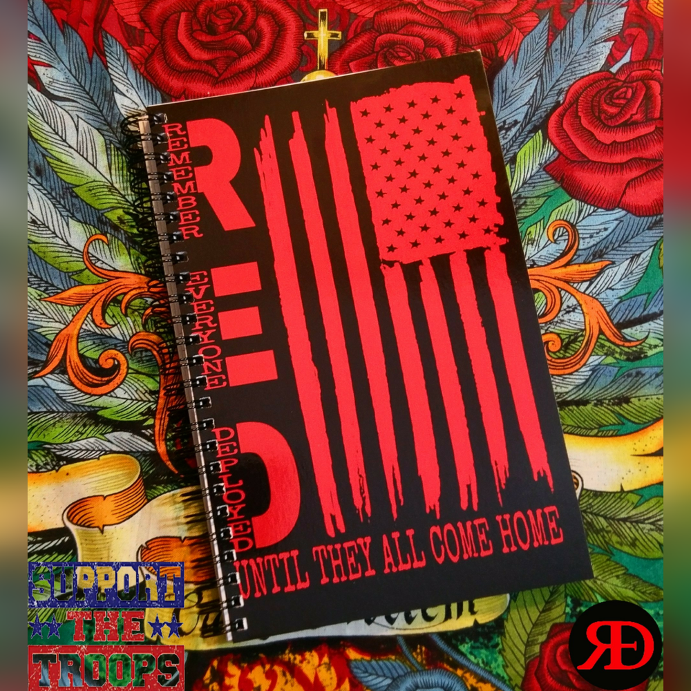 Image of R.E.D. Notebook