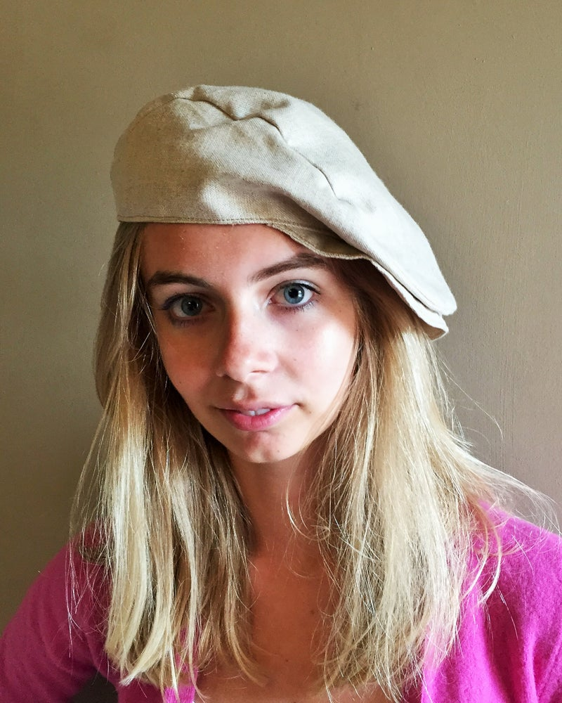 Image of Flat Cap (Natural)