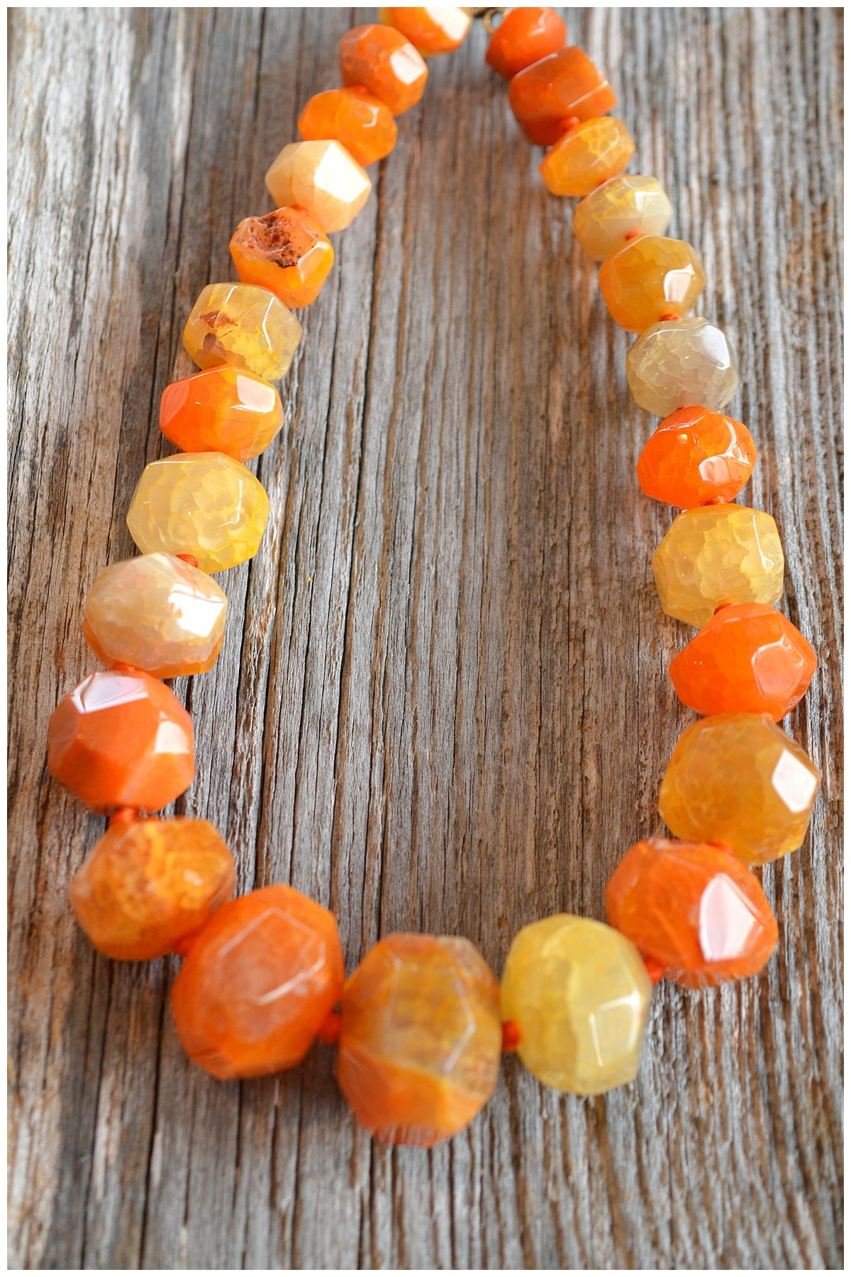 Image of Chunky Carnelian Necklace