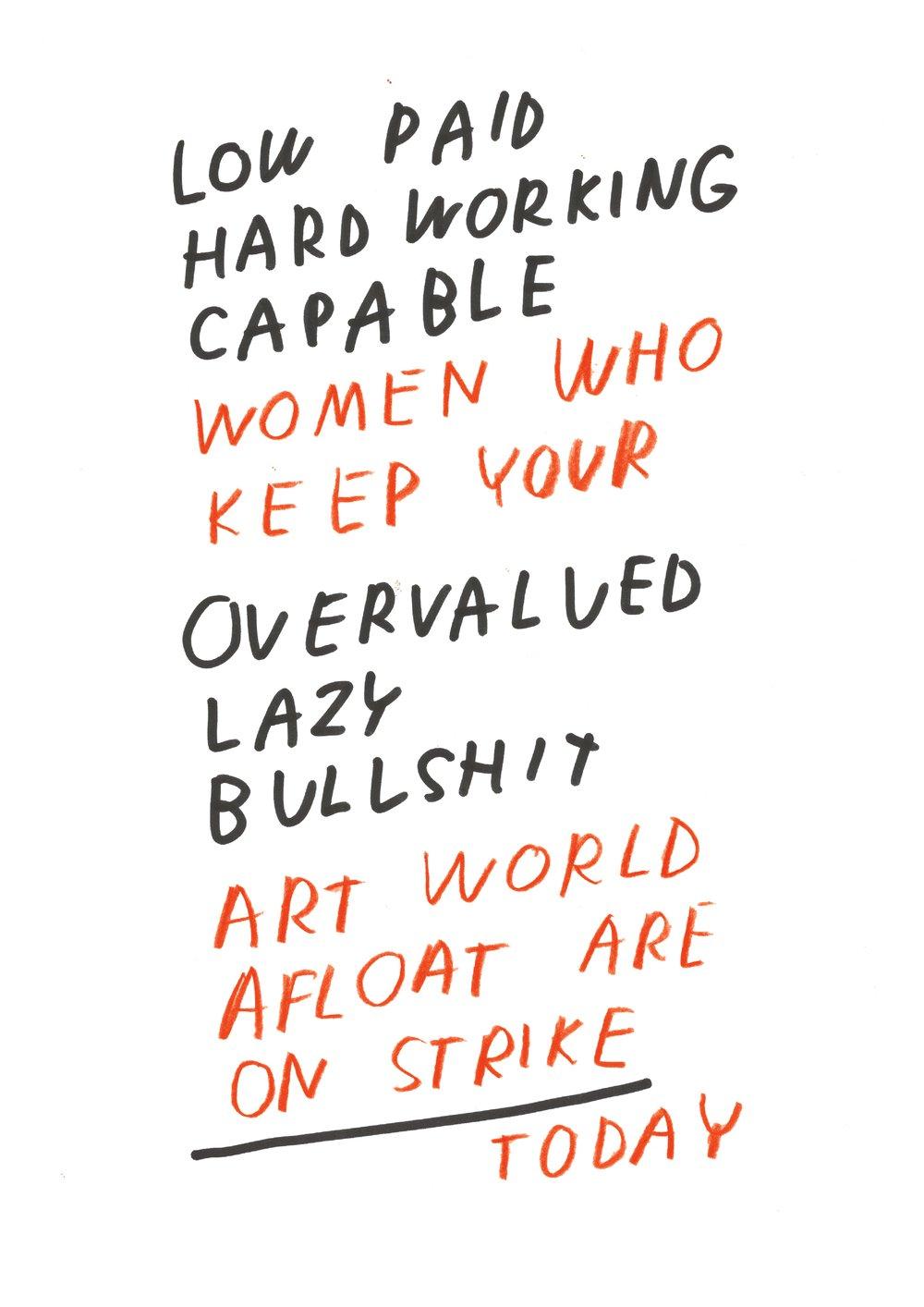 Image of women's strike