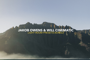 Image of Jakob Owens X Will Cinematic Lightroom Presets