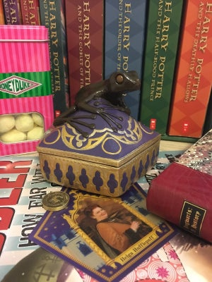 Image of Chocolate Frog Trinket Box