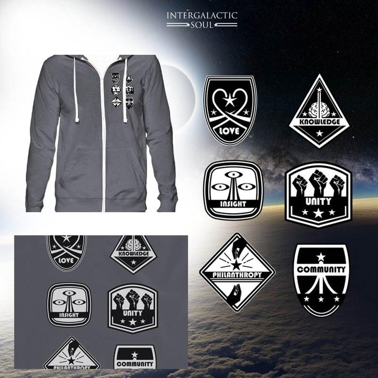 Image of Universal intergalactic hoodie