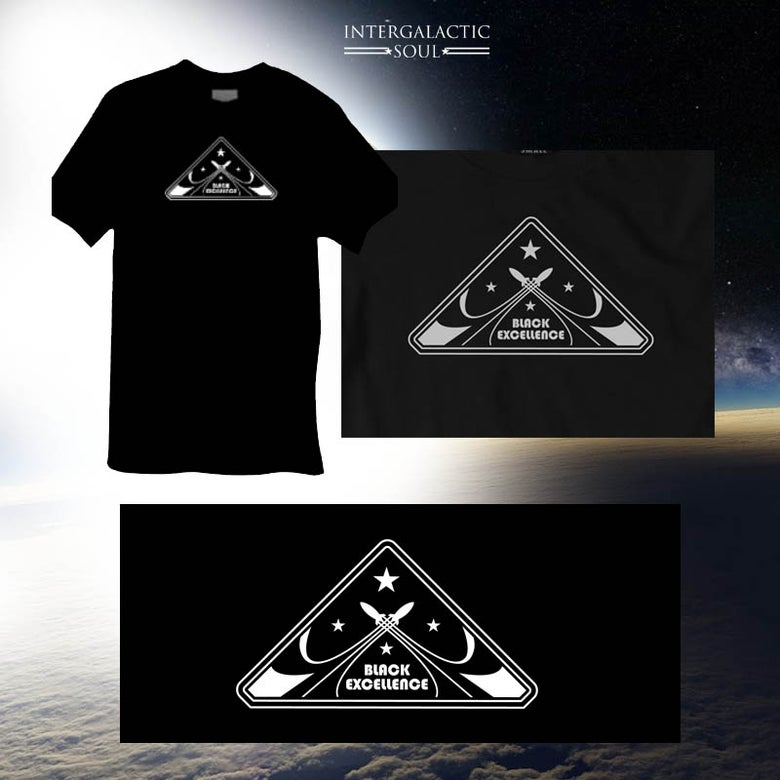 Image of Men's B.E. t-shirt intergalactic soul