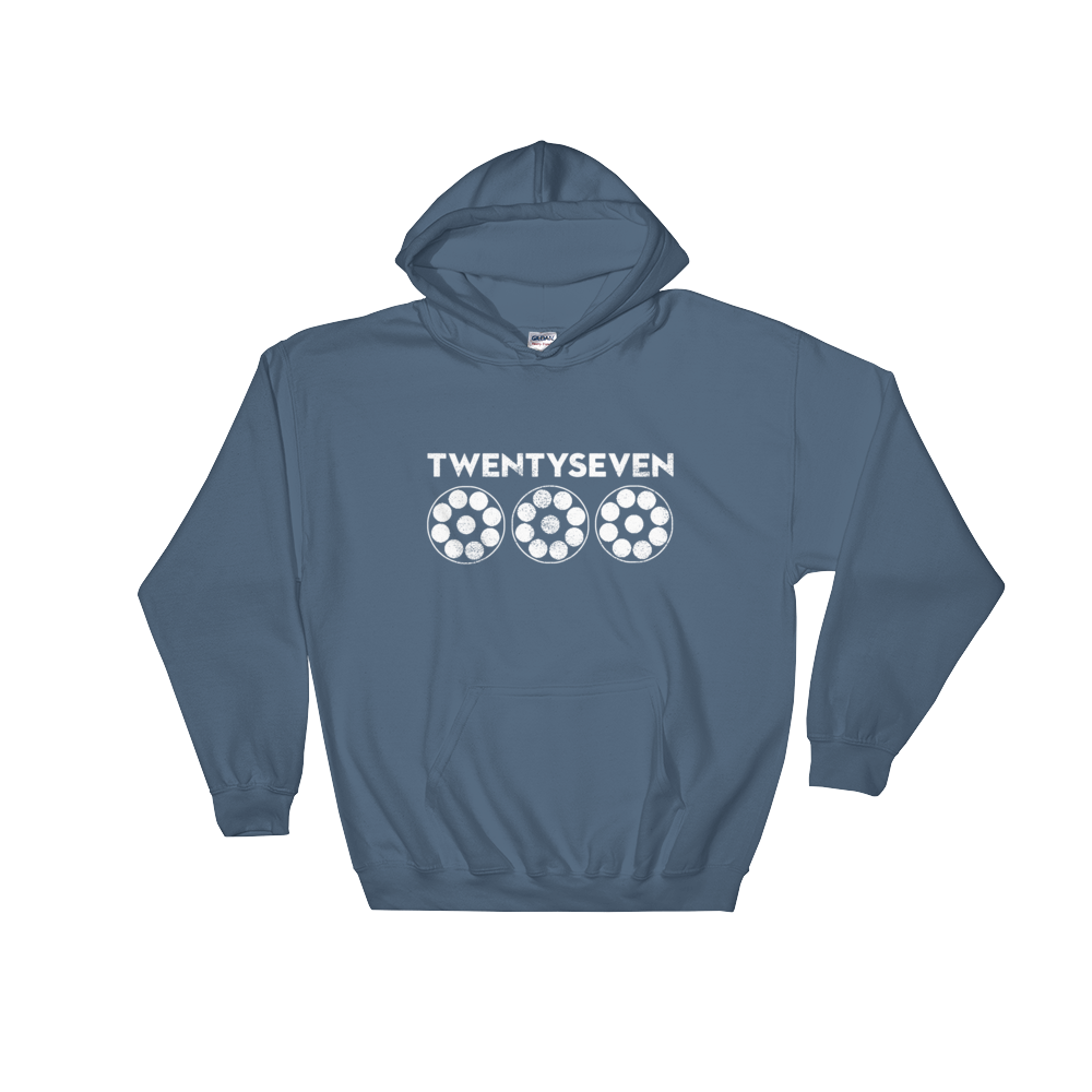 Image of Twenty Seven (Unisex Hooded Sweatshirt)