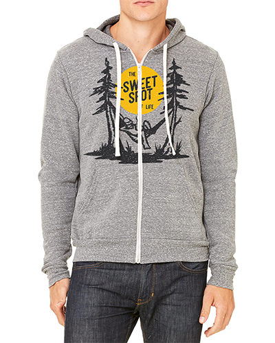 Image of Sweet Spot of Life - Full-Zip Hoodie