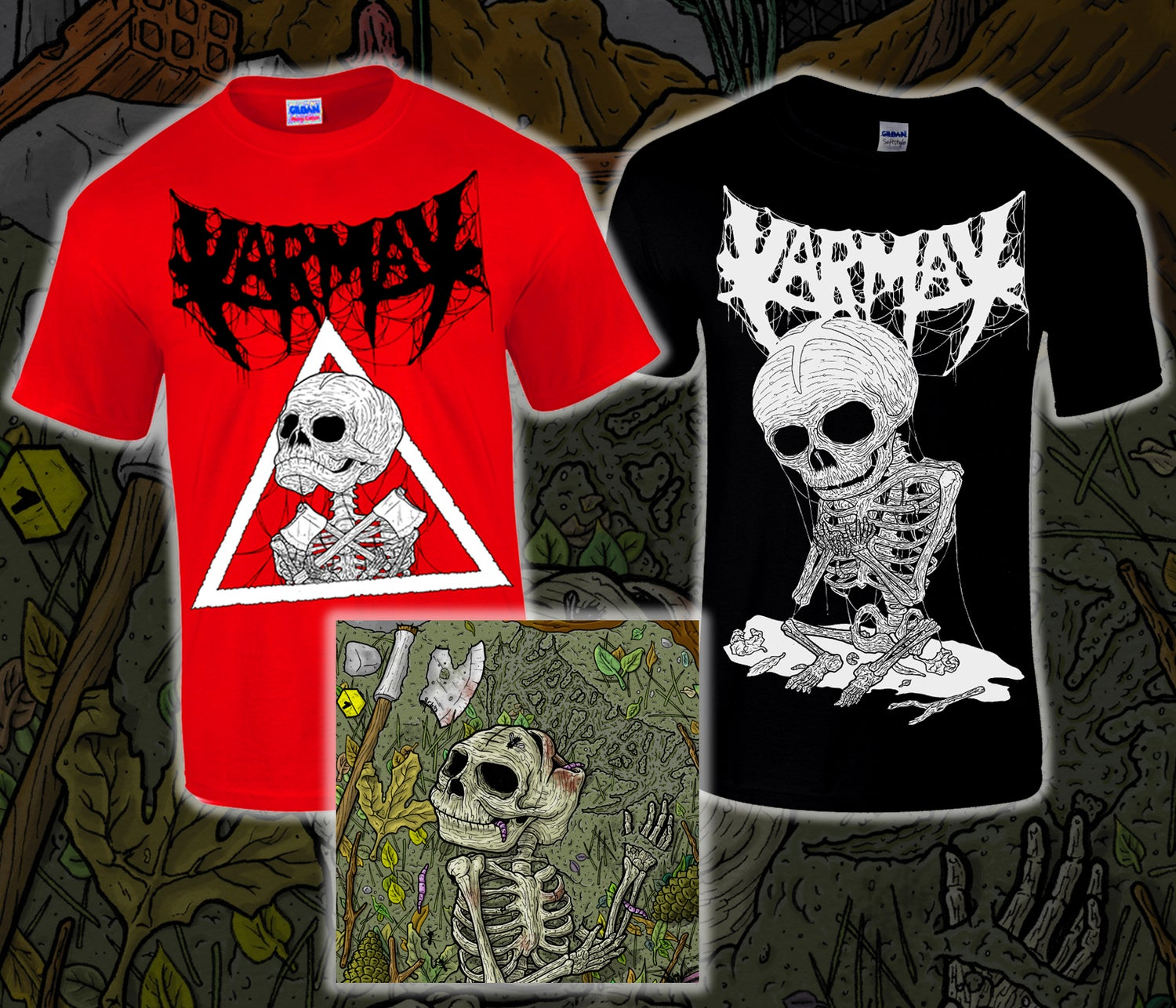 Image of Camisetas + CD Extremófilo