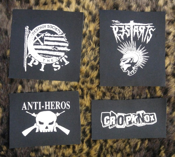 Image of Pick 1 patch - The Pist, The Restarts, Anti-Heros, Cropknox