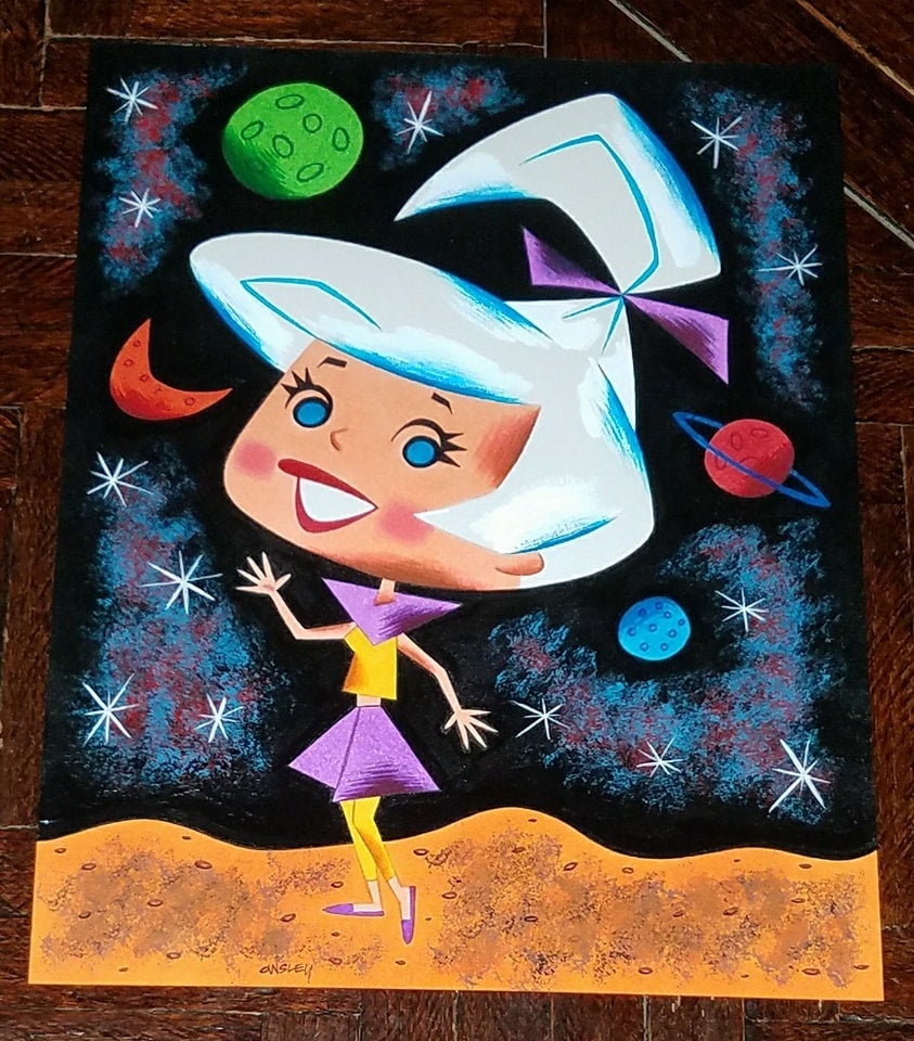 Image of JUDY JETSON 8.5x11 ORIGINAL ART