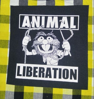 Image of Pick 1 patch - Animal Liberation, Eat Cops Not Pigs