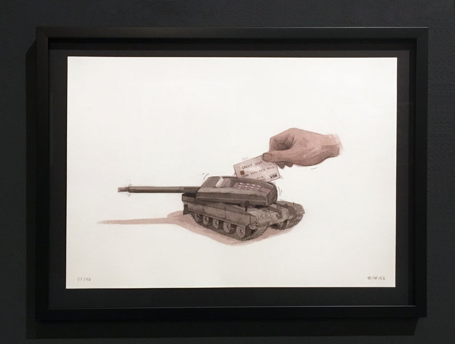 Image of ESCIF - CREDIT WAR | Signed Edition
