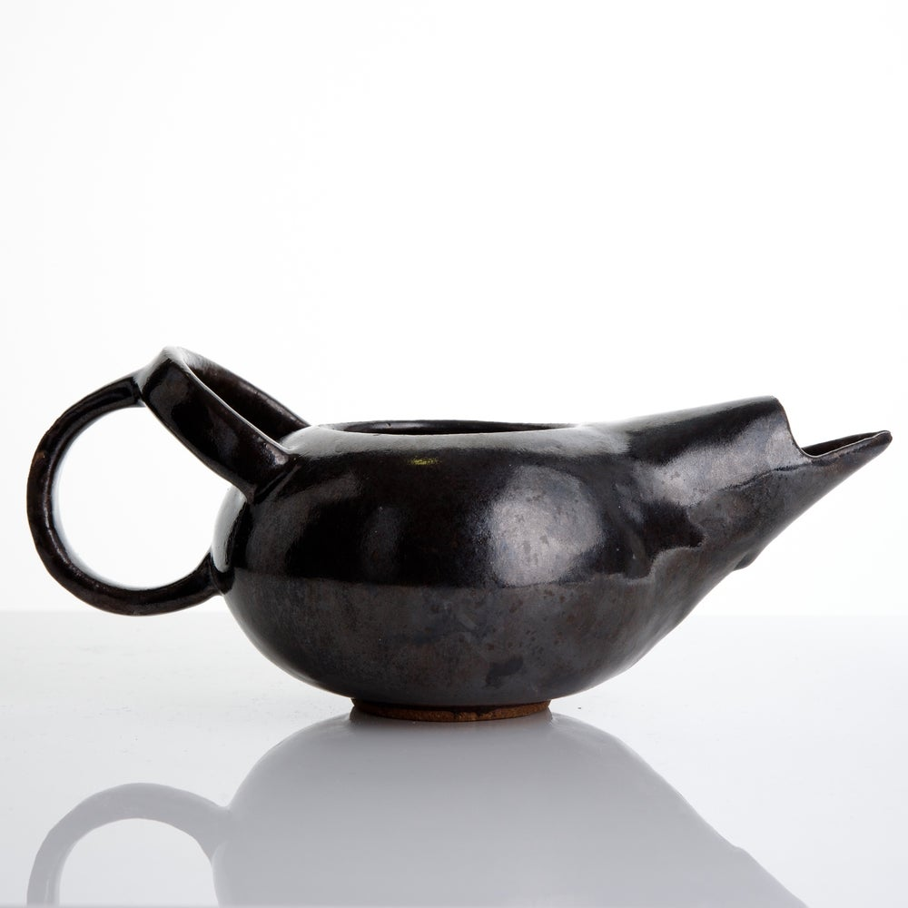 Image of Round Handle Teapot