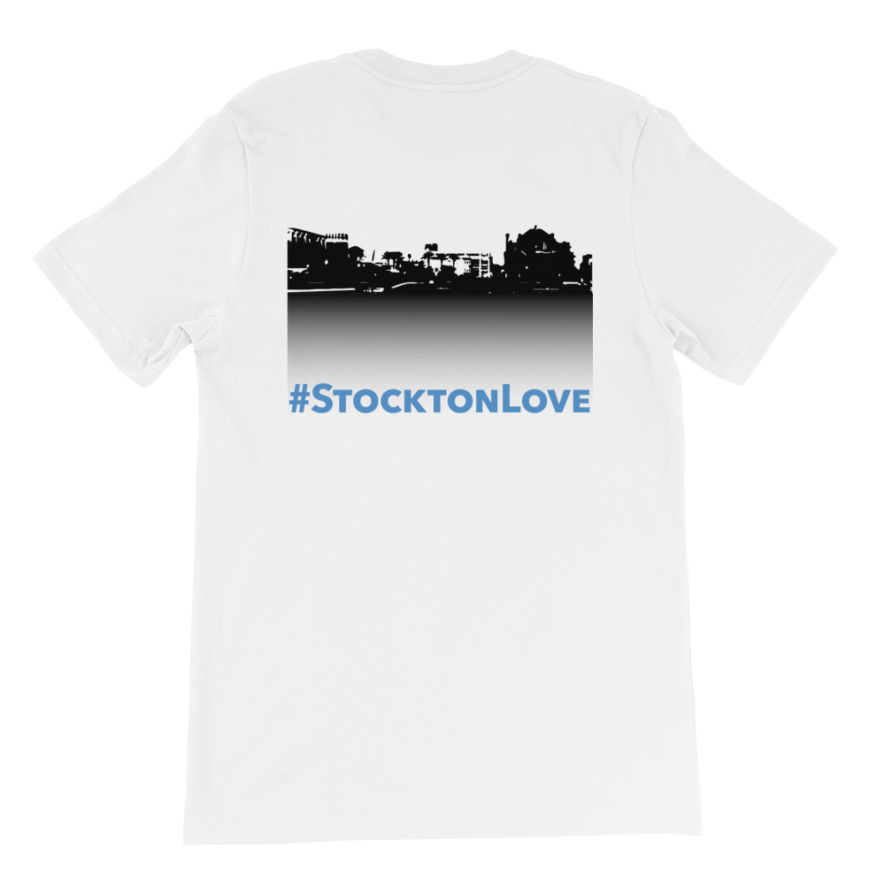 Image of EXT-Songs of Zion #StocktonLove Short-Sleeve Tee (Extended Sizes)