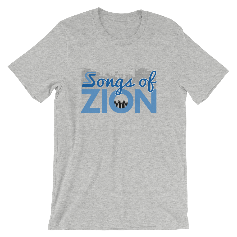 Image of EXT-Songs of Zion Psalm 100.1 Short-Sleeve Tee (Extended Sizes)