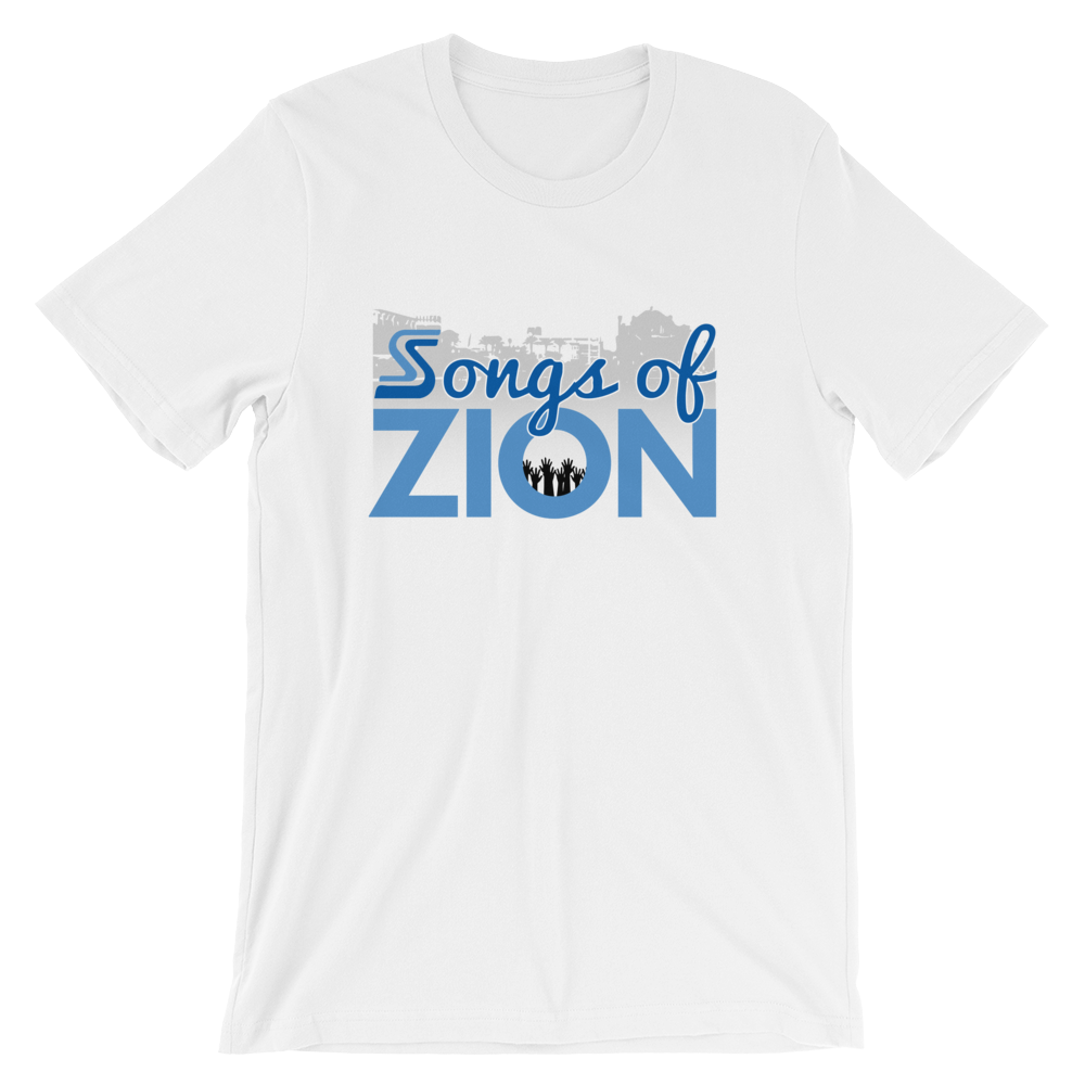 Image of EXT-Songs of Zion Psalm 137.5 Short-Sleeve Tee (Extended Sizes)