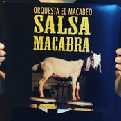 Image of Salsa Macabra LP - Reissue 2018 (SPLATTERED LIMITED VINYL)
