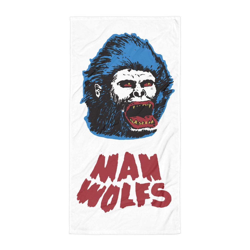 Image of MANWOLFS BEACH TOWEL