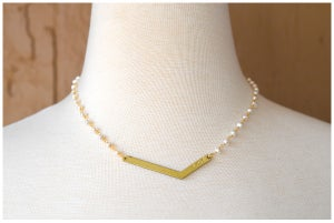 Pearl Love Necklace