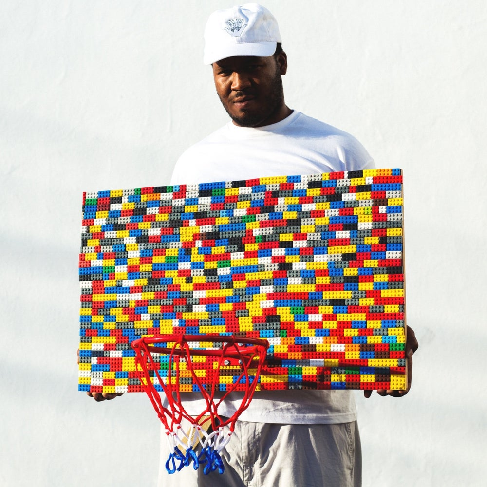 Image of Lego Basketball Hoop