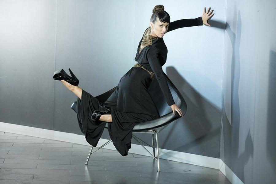 Image of B6660 V Callot Pants Dancewear latin ballroom