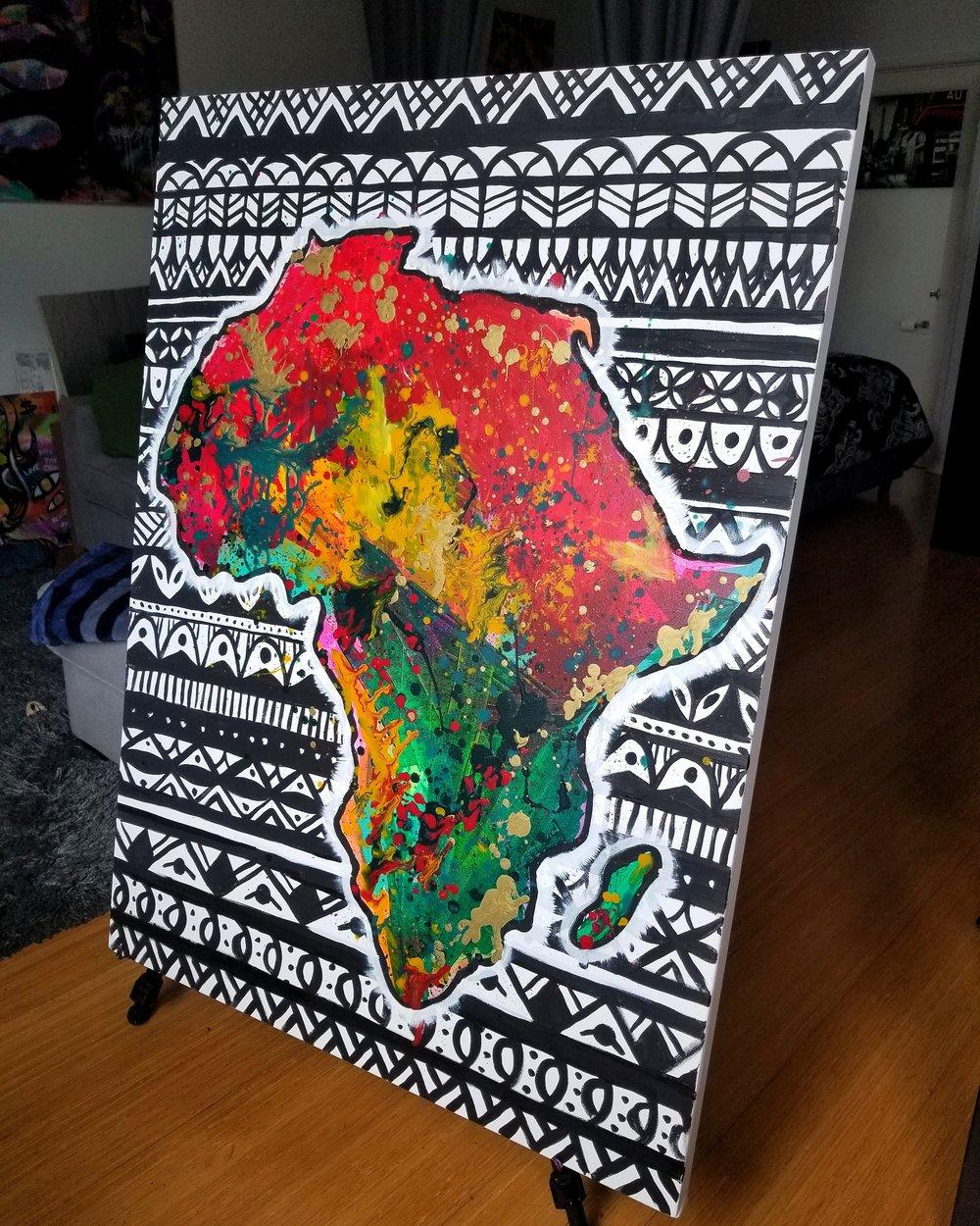 Image of Motherland -Canvas print
