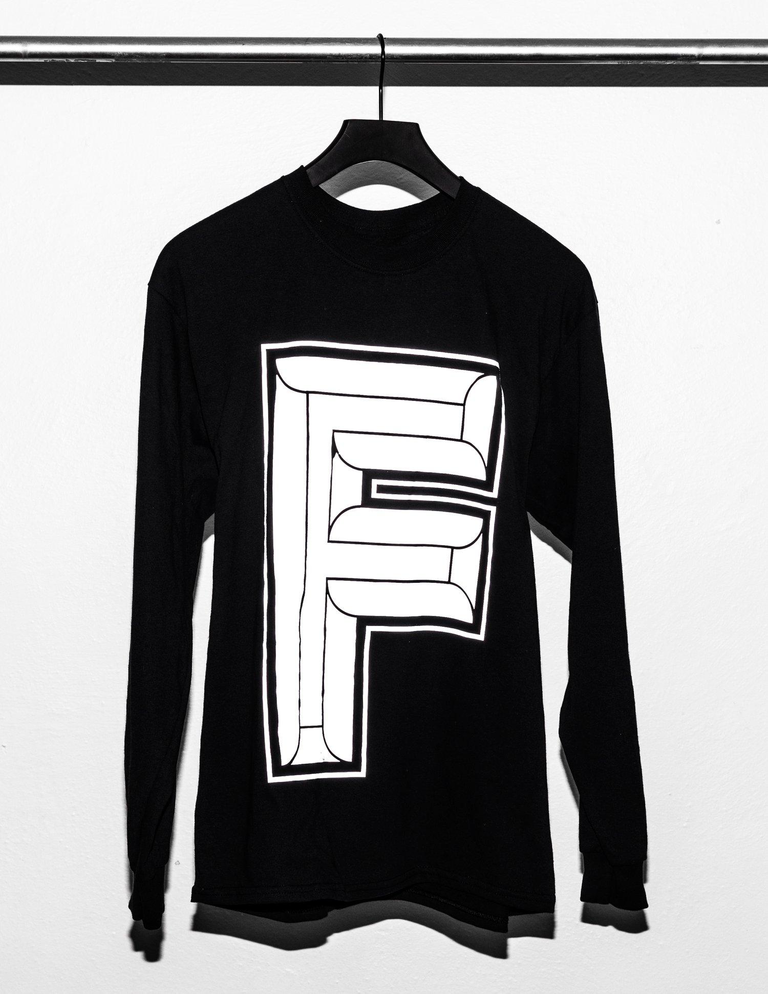 Image of F-Logo Black Long Sleeve