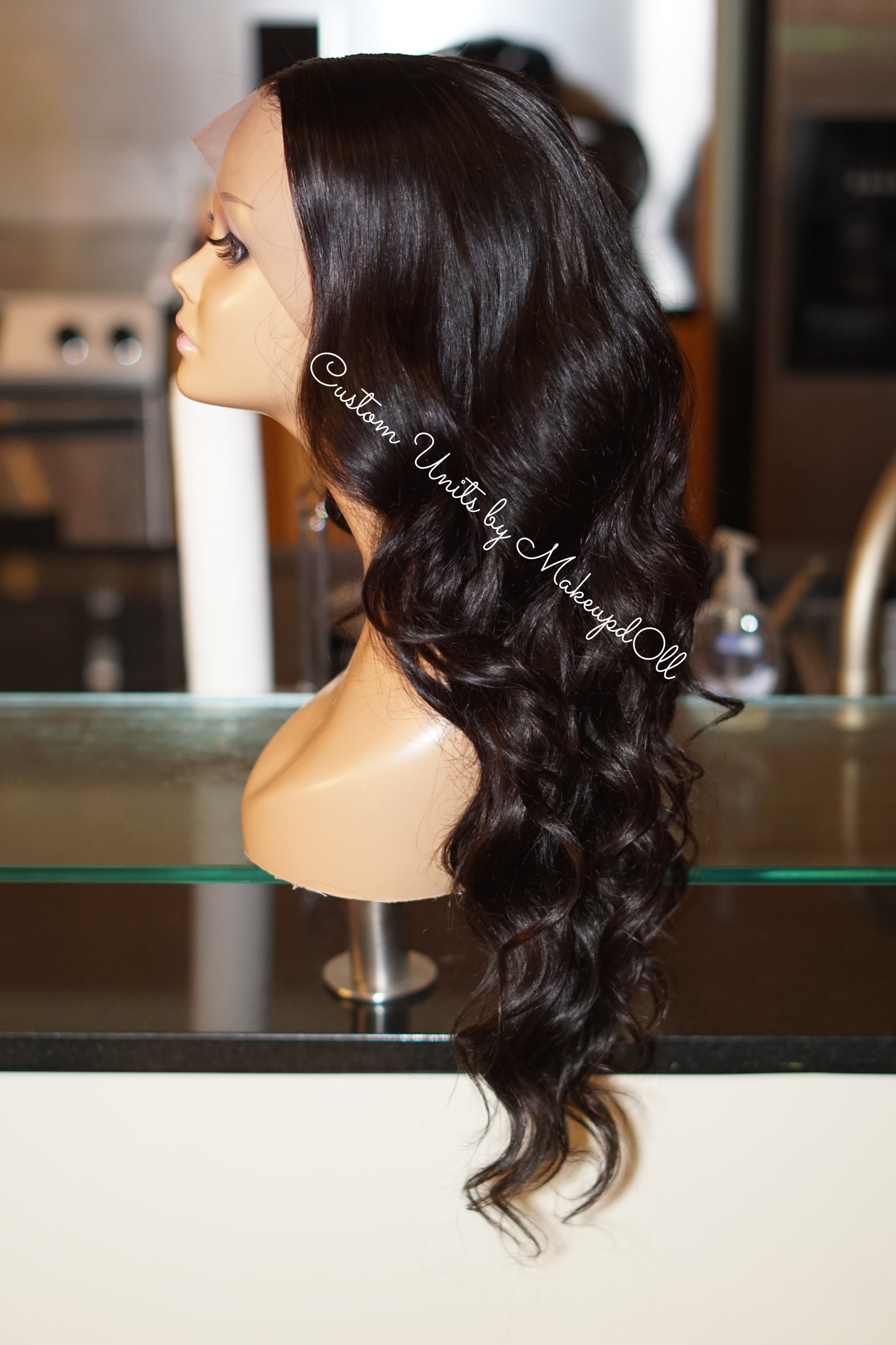 "Image of Brazilian Body Wave 24"" Custom Lace Frontal Wig!"