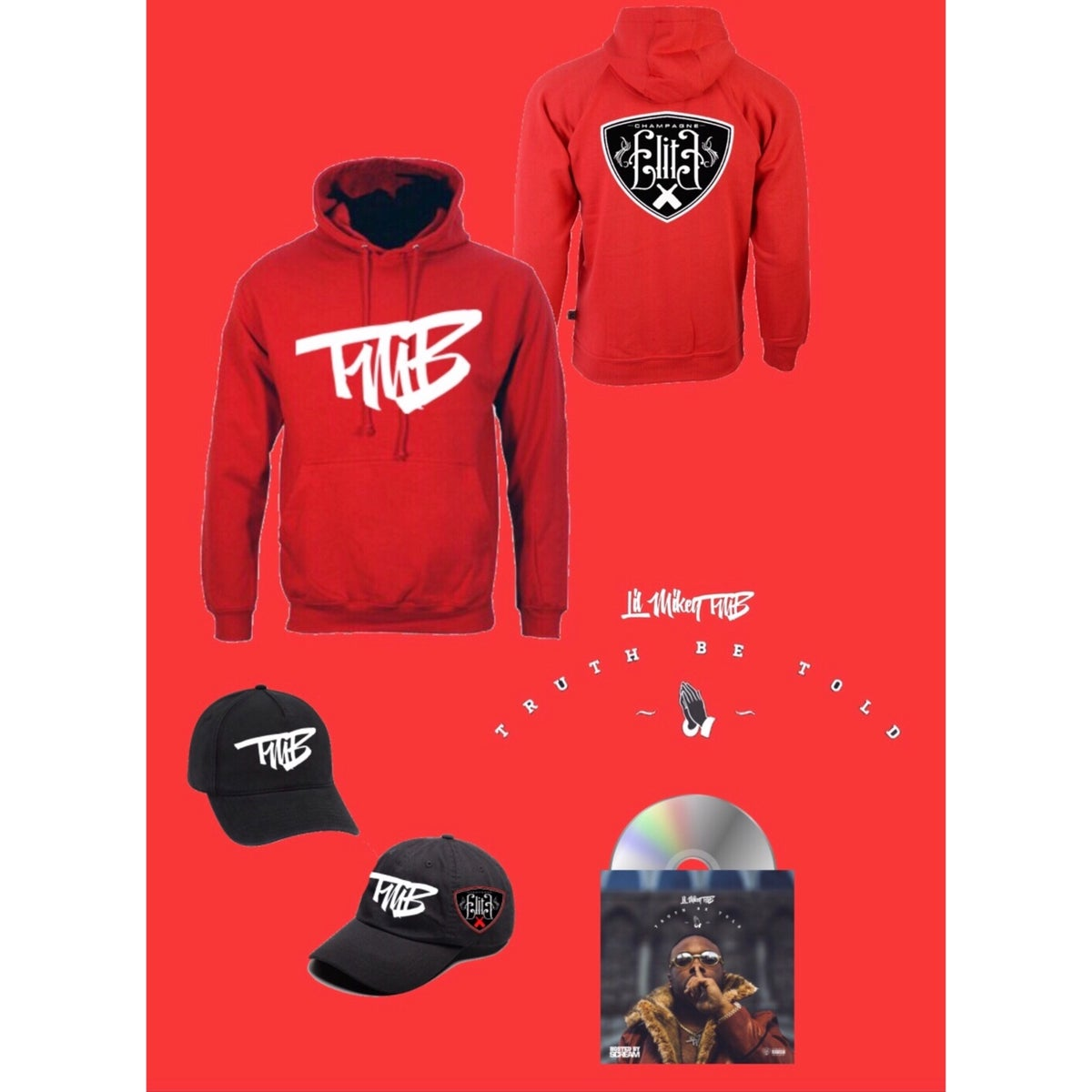 Image of Lil Mikey TMB Truth Be Told- Red Bundle