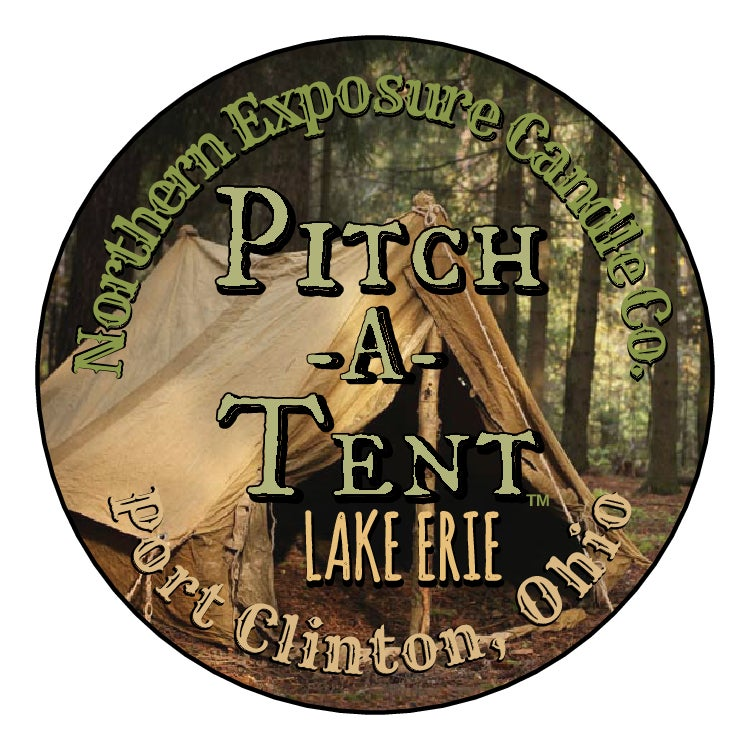 "Image of ""Pitch-A-Tent""  Soy Candle"