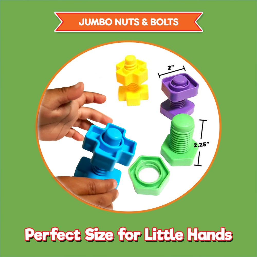 Image of Nuts & Bolts Set - 12pc