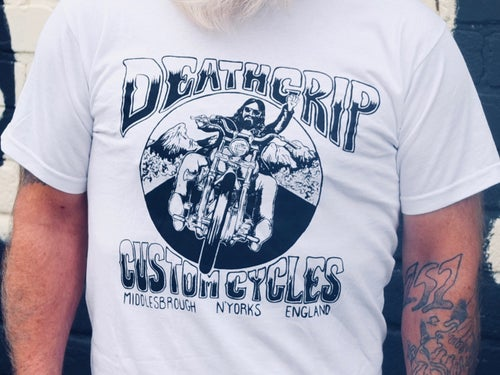 Image of Death Grip Custom Cycles T-Shirt