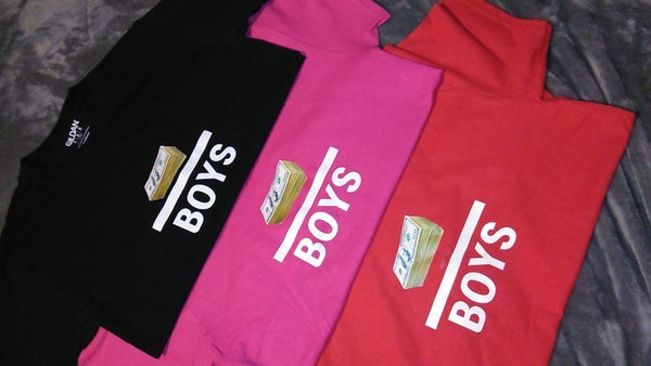 Image of Money Over Boys T-shirt (not cropped)