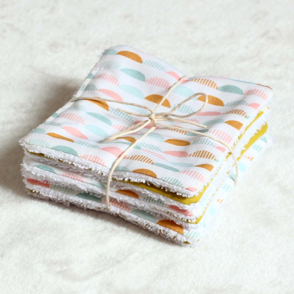 Image of Lingettes lavables - coloris au choix