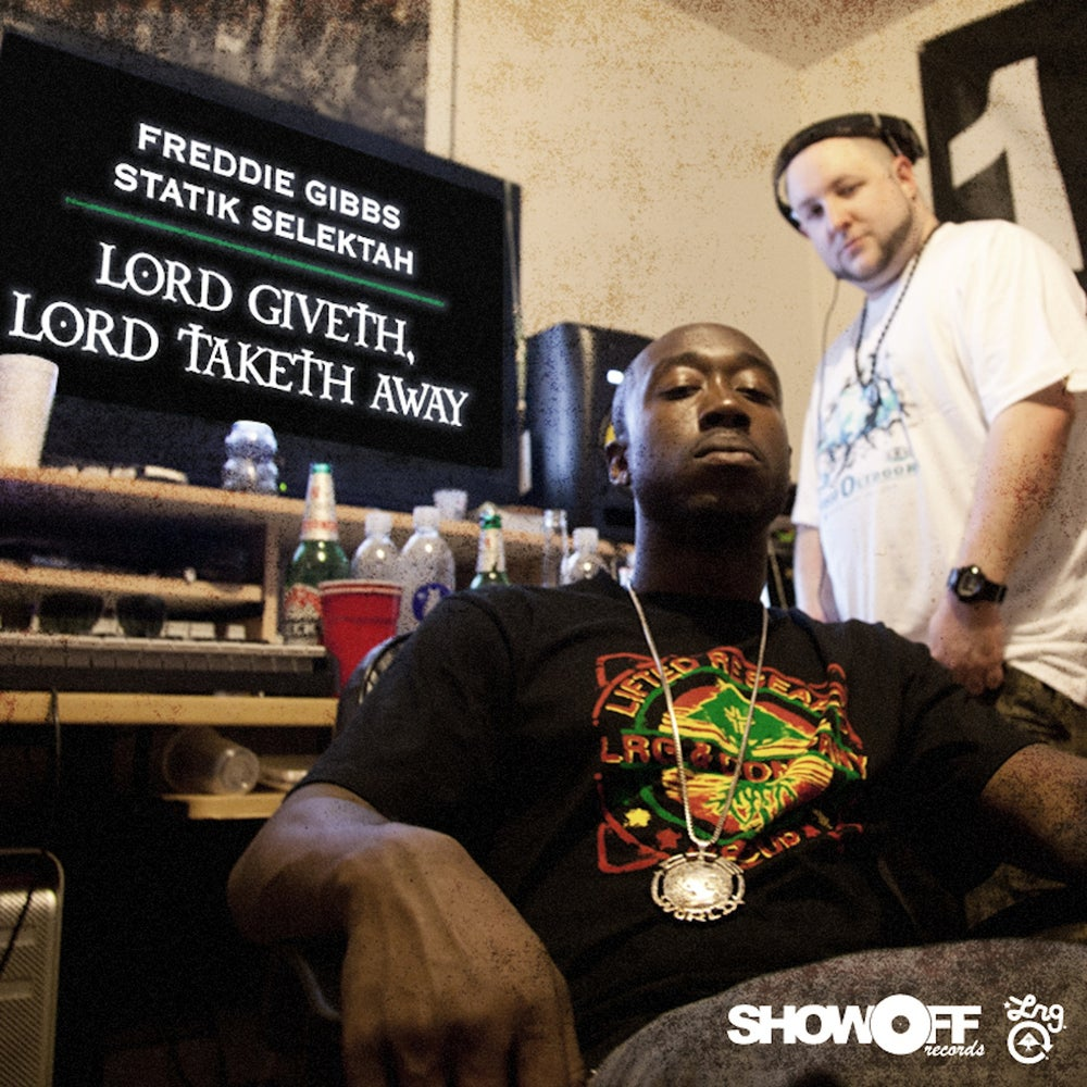 Image of Freddie Gibbs & Statik Selektah - Lord Giveth, Lord Taketh Away [LP] OMINC024