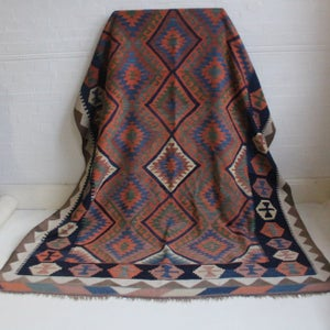 Image of LARGE VINTAGE KILIM