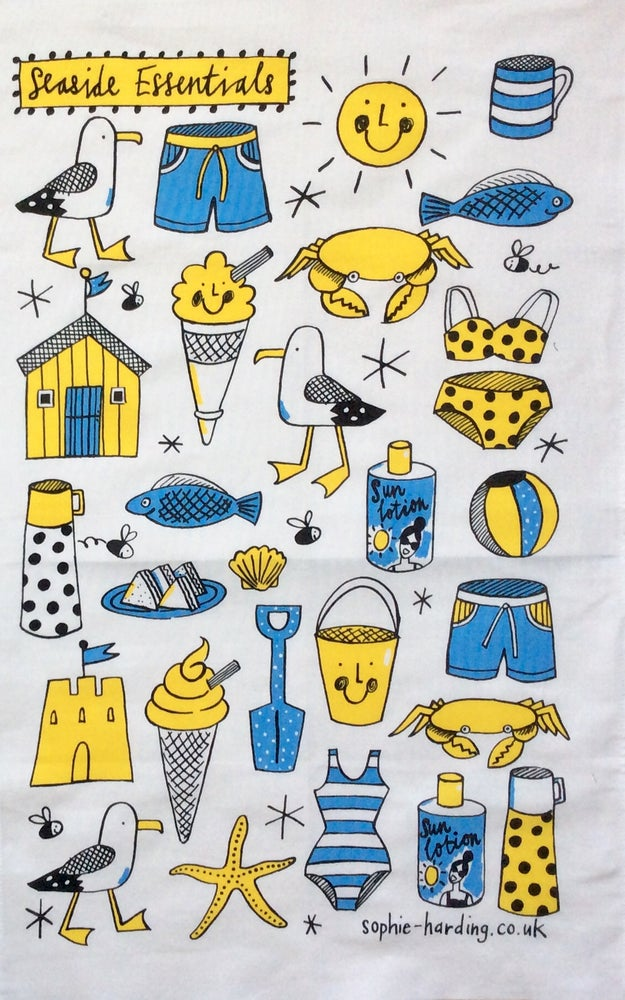 Image of Seaside Essentials T towel