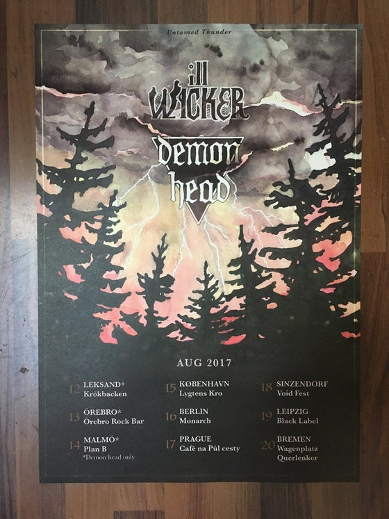 Image of Tour Poster