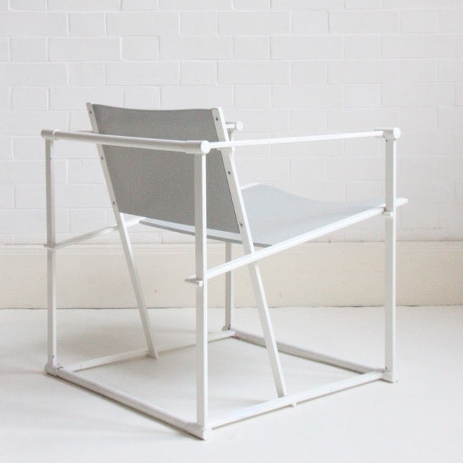 Image of FM61 CUBE LOUNGE CHAIR BY RADBOUD VAN BEEKUM FOR PASTOE, 1980S