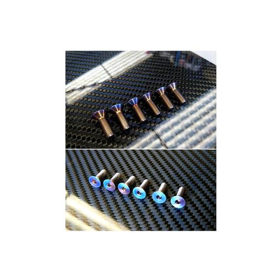 Image of AE86 WORLD Titanium Steering Bolts