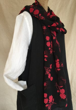 Image of silk scarf